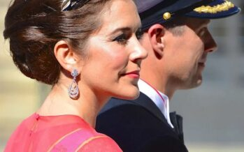 Denmark: Crown Prince Frederik and Crown Princess Mary attended Flag Day comemmorations