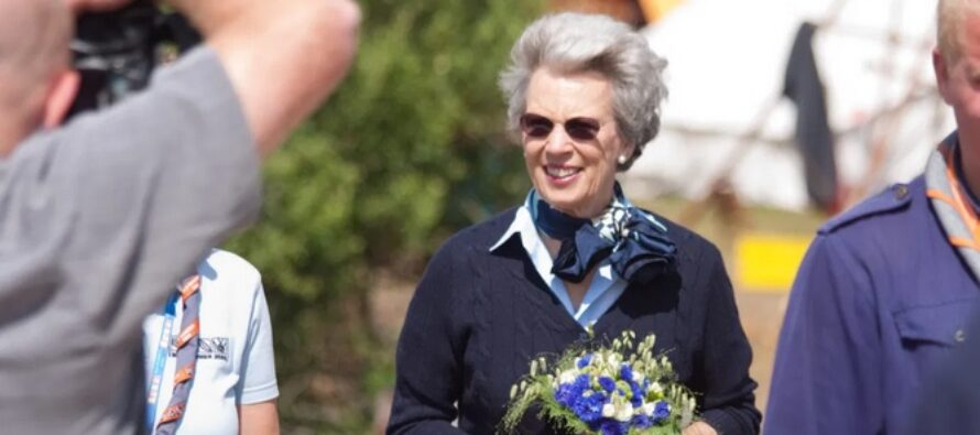 Denmark: Princess Benedikte honours fallen resistance fighters