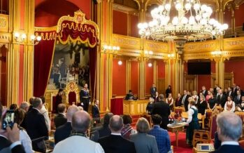 Norway: Crown Prince Haakon opens Norwegian parliament