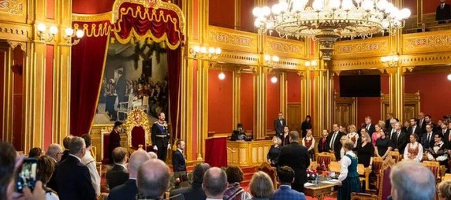 Norway: Crown Prince Haakon opens Norwegian parliament