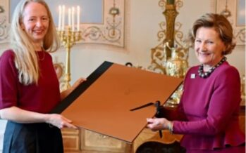 "Norway: Queen Sonja hands over the ""Queen Sonja Print Award"""