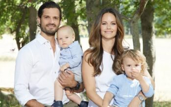 Sweden: Prince Carl Philip and Princess Sofia visit their duchy of Värmland to see how the county has been impacted by the COVID-19 pandemic