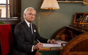Sweden: King Carl XVI Gustaf celebrates Swedish forests