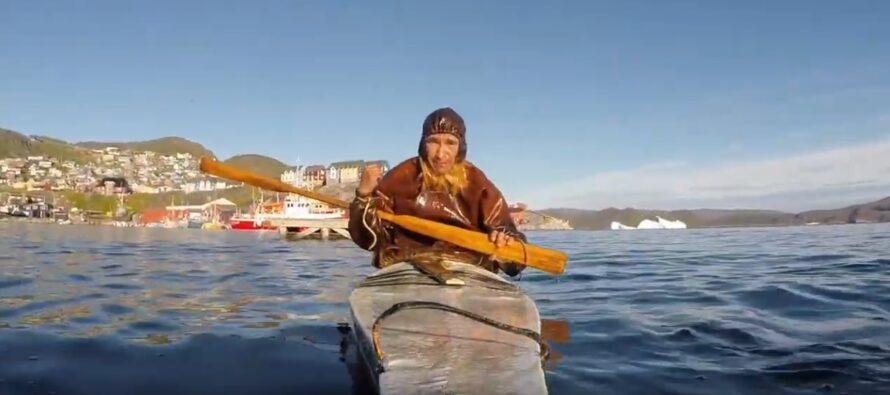Greenland: The Greenlandic kayak or 'qajaq'