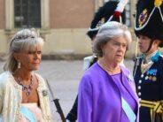 Sweden: Princess Birgitta of Sweden and Hohenzollern returns to Spain