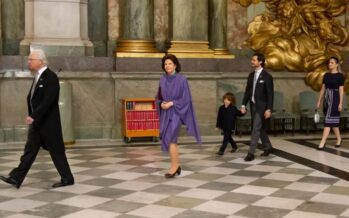 Sweden: Swedish royals attend Prince Julian's Te Deum at the Royal Chapel in Stockholm Palace